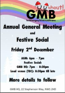 GMB Shout Poster